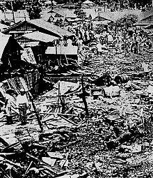 事故後の宮森小学校 (Wikipediaより)