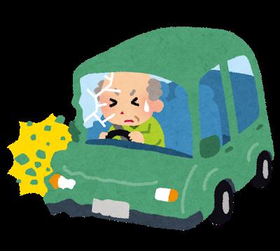 高齢ドライバーによる事故