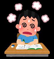 勉強が苦手な子供イメージ