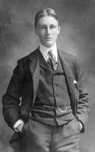 1900年撮影の若きF・D・ルーズベルト
