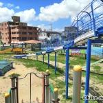 【公園】沖縄市美東公園_巨大ローラー滑り台