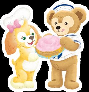 ダッフィー&クッキー・アン