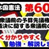 日本国憲法第60条「衆議院の予算先議権、予算議決に関する衆議院の優越」について勉強・解説します!【分かりやすく勉強】