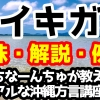 「イキガ」の意味と解説、例文!うちなーんちゅが教えるリアルな沖縄方言(うちなーぐち)講座!