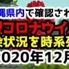 【2020年12月】沖縄県内で確認された新型コロナウイルスの感染状況について経緯を時系列にまとめてみた※随時更新