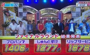 優勝はリップサービス!「新春!Oh笑いO-1グランプリ2021」【沖縄のお笑い大会】_ファイナルラウンド結果