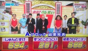 優勝はリップサービス!「新春!Oh笑いO-1グランプリ2021」【沖縄のお笑い大会】_Aブロック結果