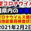 【2021年2月2日】沖縄県内の米軍基地内における新型コロナウイルス感染状況と基地従業員検査状況