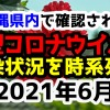 【2021年6月】沖縄県内で確認された新型コロナウイルスの感染状況について経緯を時系列にまとめてみた※随時更新