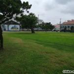 【2021年】連結型の巨大遊具が楽しすぎる!沖縄市の黒潮公園は広場と巨大遊具が魅力的な公園です!_広場4