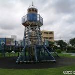 【2021年】連結型の巨大遊具が楽しすぎる!沖縄市の黒潮公園は広場と巨大遊具が魅力的な公園です!_連結型巨大遊具