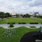 【2021年】連結型の巨大遊具が楽しすぎる!沖縄市の黒潮公園は広場と巨大遊具が魅力的な公園です!_連結型巨大遊具10