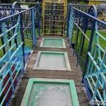 【2021年】連結型の巨大遊具が楽しすぎる!沖縄市の黒潮公園は広場と巨大遊具が魅力的な公園です!_連結型巨大遊具13