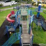 【2021年】連結型の巨大遊具が楽しすぎる!沖縄市の黒潮公園は広場と巨大遊具が魅力的な公園です!_連結型巨大遊具21