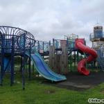 【2021年】連結型の巨大遊具が楽しすぎる!沖縄市の黒潮公園は広場と巨大遊具が魅力的な公園です!_連結型巨大遊具6