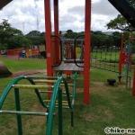 【2021年】遊具が密集+目立つすべり台が特徴!沖縄市の八重島公園に遊びに行ってみよう!Aエリア_連結型巨大遊具11