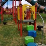 【2021年】遊具が密集+目立つすべり台が特徴!沖縄市の八重島公園に遊びに行ってみよう!Aエリア_連結型巨大遊具14