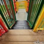 【2021年】遊具が密集+目立つすべり台が特徴!沖縄市の八重島公園に遊びに行ってみよう!Aエリア_連結型巨大遊具18