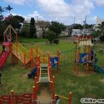 【2021年】遊具が密集+目立つすべり台が特徴!沖縄市の八重島公園に遊びに行ってみよう!Aエリア_連結型巨大遊具19