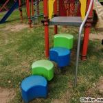 【2021年】遊具が密集+目立つすべり台が特徴!沖縄市の八重島公園に遊びに行ってみよう!Aエリア_連結型巨大遊具22