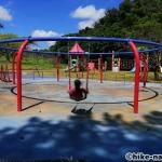【2021年】遊具が密集+目立つすべり台が特徴!沖縄市の八重島公園に遊びに行ってみよう!Bエリア_ブランコ