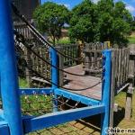 【2021年】遊具が密集+目立つすべり台が特徴!沖縄市の八重島公園に遊びに行ってみよう!Bエリア_巨大滑り台4