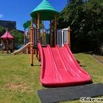 【2021年】遊具が密集+目立つすべり台が特徴!沖縄市の八重島公園に遊びに行ってみよう!Bエリア_連結遊具