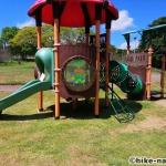 【2021年】遊具が密集+目立つすべり台が特徴!沖縄市の八重島公園に遊びに行ってみよう!Bエリア_連結遊具3
