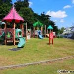 【2021年】遊具が密集+目立つすべり台が特徴!沖縄市の八重島公園に遊びに行ってみよう!Bエリア_連結遊具7