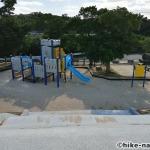 【2021年】パンダの絵が書かれているコンクリート巨大滑り台が特徴!うるま市の宇堅児童公園に遊びに行ってみた!_パンダの絵が書かれているコンクリート巨大滑り台4
