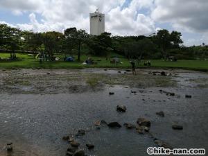 うるま市の倉敷ダム「やんばるの森(ヤンバルムイ)」水遊び体験をご紹介します!_反対側からの景色です