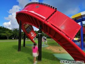 【2021年】言うことなしの大型公園!沖縄市の沖縄県総合運動公園内にある大型遊具施設に遊びに行ってみた!_こんじょうのぼり2