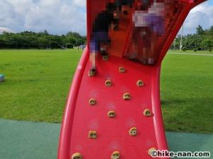 【2021年】言うことなしの大型公園!沖縄市の沖縄県総合運動公園内にある大型遊具施設に遊びに行ってみた!_こんじょうのぼり3